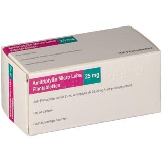 AMITRIPTYLIN MICRO LAB25MG
