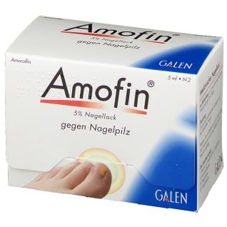 Amofin® 5 % Nagellack gegen Nagelpilz