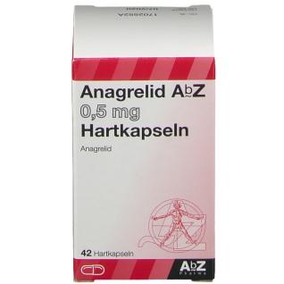 ANAGRELID AbZ 0,5 mg Hartkapseln