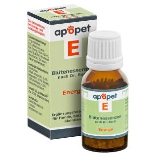 apopet® Blütenessenz nach Dr. Bach  E – Energy