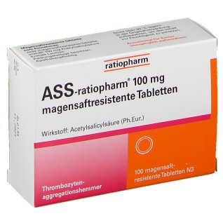 ASS-ratiopharm® 100 mg