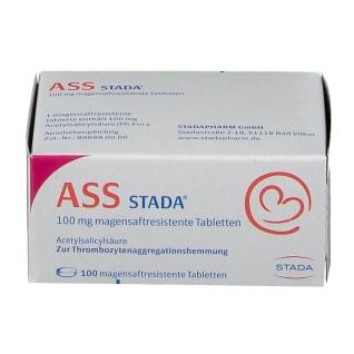 ASS STADA® 100 mg magensaftresistente Tabletten