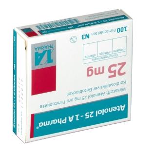 Atenolol 25 1a Pharma Filmtabletten