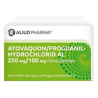 ATOVAQUON/Proguanilhydrochlorid AL 250mg/100mg FTA