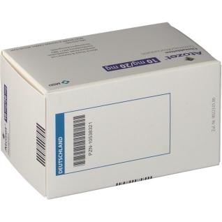 ATOZET 10 mg/20 mg Filmtabletten