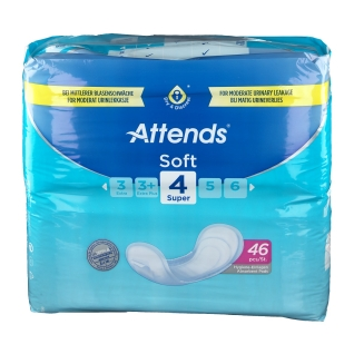 Attends® Soft 4 Super Einlagen