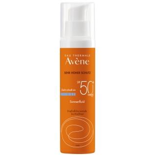 Avène Sonnenfluid SPF 50+ mit Duftstoffen 50 ml
