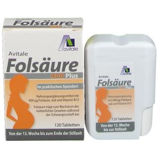 Avitale Folsäure 400 Plus