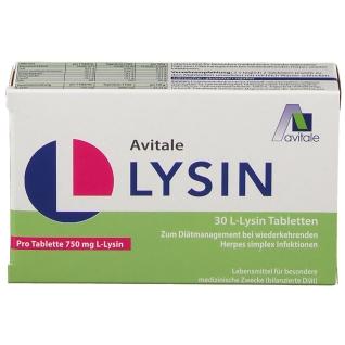Avitale L-Lysin 750 mg