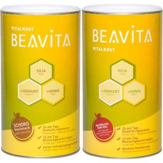BEAVITA Vitalkost Original Vanille & Schoko - Mahlzeitenersatz