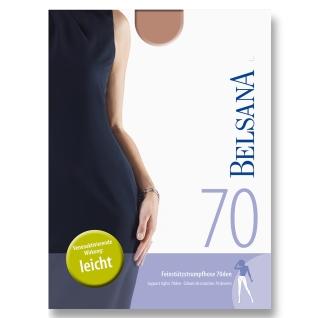 Belsana 70den Feinstützstrumpfhose Größe 2 Konfektionsgröße 40 - 42 Lava