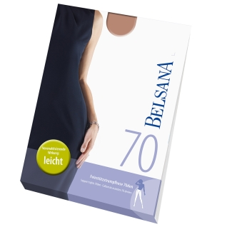 Belsana 70den Feinstützstrumpfhose Größe 6 Konfektionsgröße 52 - 54 Bronze