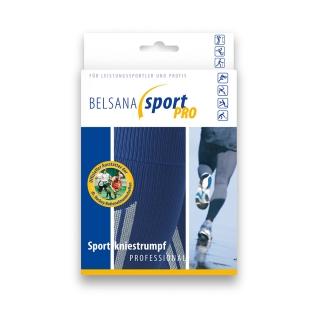 BELSANA sport pro Sportkniestrumpf Schuhgr. 47-50 M Farbe schwarz