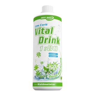 Best Body Nutrition Low Carb Vital Drink Waldmeister