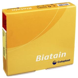 Biatain® Ag Schaumverband mit Silber nicht-haftend 5 cm x 8 cm