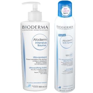 BIODERMA Atoderm INTENSIVE Baume 500 ml + BIODERMA Atoderm SOS Spray 200 ml