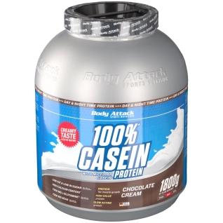 Body Attack Casein Protein Chocolate Cream