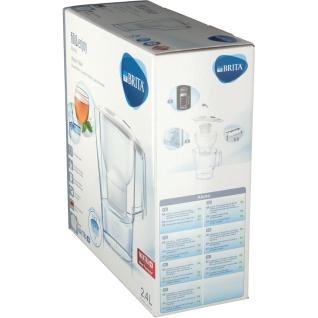 BRITA® fill & enjoy Aluna Tischwasserfilter 2,4 Liter weiß