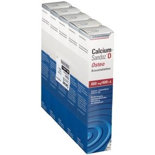 Calcium-Sandoz® D Osteo 600 mg/ 400 mg I.E. Vit. D