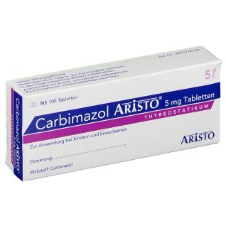 CARBIMAZOL Aristo 5 mg Tabletten
