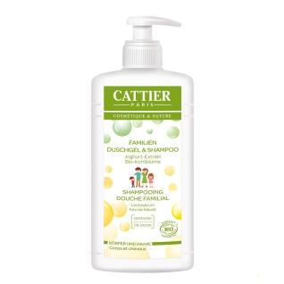 CATTIER Familien Duschgel & Shampoo - Joghurt-Extrakt & Kornblumenwasser