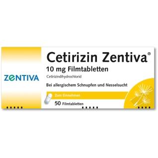 Cetirizin Zentiva® 10 mg