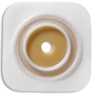 Combihesive Natura® Flache Basisplatte hydrokolloidem Haftrand 13-35 mm