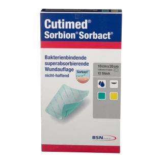 Cutimed® Sorbion® Sorbact® Wundauflage 10 x 20 cm