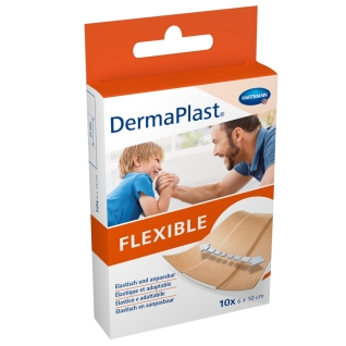 DermaPlast® FLEXIBLE Wundpflaster 6 cm x 10 cm