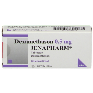 Dexamethason 0,5 mg Jenapharm Tabletten