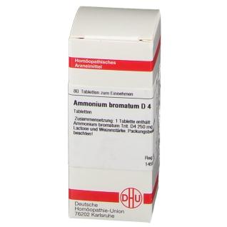 DHU Ammonium Bromatum D4