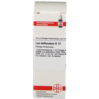 DHU Lac Defloratum D12