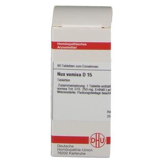 DHU Nux Vomica D15