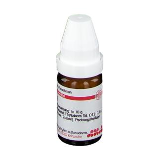 DHU Phytolacca D12
