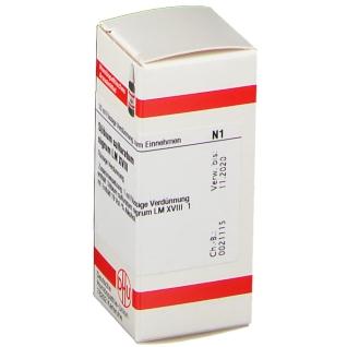 DHU Stibium Sulfuratum Nigrum LM XVIII