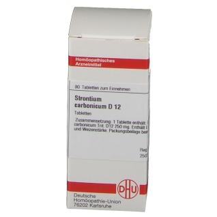 DHU Strontium Carbonicum D12