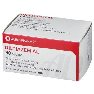 Diltiazem Al 90 Retardkapseln
