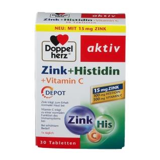 Doppelherz® aktiv Zink + Histidin + Vitamin C
