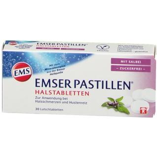 Emser Pastillen® Halstabletten mit Salbei Zuckerfrei