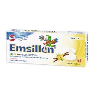 Emsillen® Kinder - Halstabletten Vanille