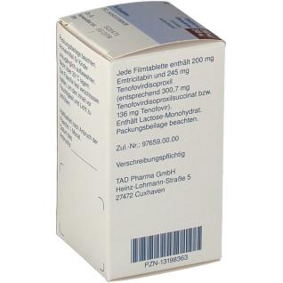 EMTENOVO 200 mg/245 mg Dose Filmtabletten