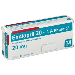 ENALAPRIL 20-1A Pharma Tabletten