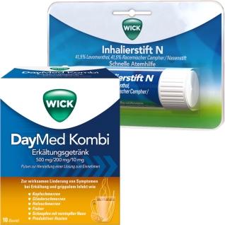 Erkältungsset WICK DayMed Kombi +Inhalierstift N ab 12 Jahre