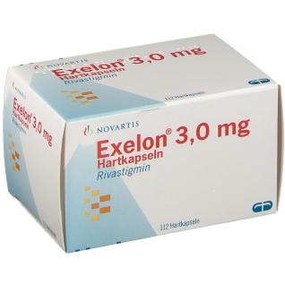 Exelon 3 mg Hartkapseln