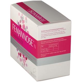 FEMANNOSE® N D-Mannose + 24er taxofit® Vitamin B12 + B5 Softchews Himbeer GRATIS
