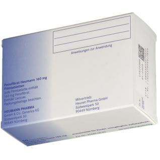 FENOFIBRAT Heumann 160 mg Filmtabletten