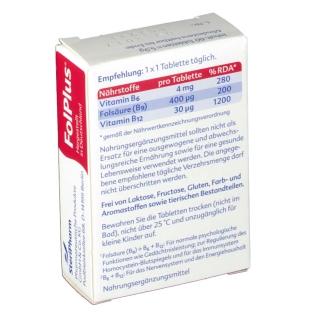 Fol Plus Laktosefreie Tabletten