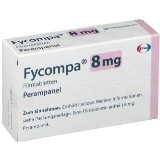 FYCOMPA 8 mg Filmtabletten