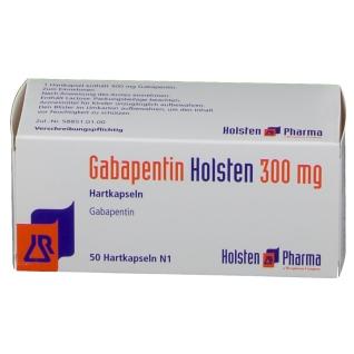 GABAPENTIN Holsten 300 mg Hartkapseln