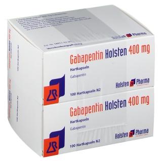 GABAPENTIN Holsten 400 mg Hartkapseln